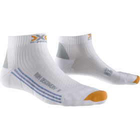 X-Socks Run Discovery New Calcetines Running Mujer, white
